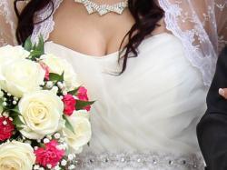 Bajeczna suknia ślubna !!!