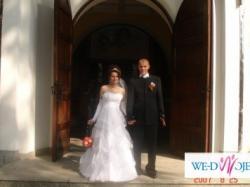 bajeczna suknia ślubna ciążowa i nie tylko