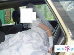 BAJECZNA suknia ślubna+dodatki