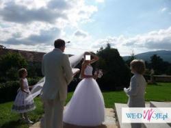 BAJECZNA Suknia ślubna Princessa