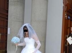 Bajeczna suknie ślubna Demetrios 893