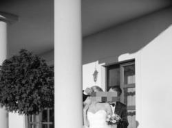 Bajeczna tiulowa suknia ślubna z trenem (welon+etola+woalka gratis)
