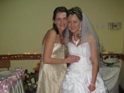 Bajkowa biała suknia