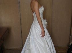 Bajkowa francuska suknia