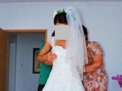 Bajkowa suknia ślubna:)