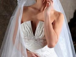 Bajkowa suknia ślubna Classa 2009 rozmiar 34/36 C 628, C 614