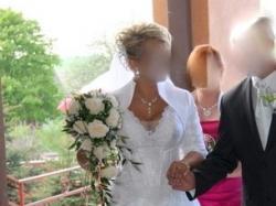 Bajkowa suknia ślubna+dwa gratisy