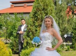 Bajkowa suknia ślubna model Elite 2010