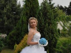 Bajkowa suknia ślubna. Model ELite 2010. Tanio.