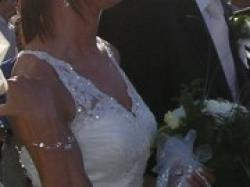 Bajkowa suknia ślubna PRONOVIAS model Jupiter, okazja cenowa !!!