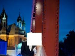 Bajkowa suknie tiulowa Cosmobella 7313 roz. 34, dla szczupłej, biała