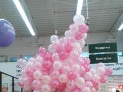 Balony, z nadrukie, na hel, dekoracje balonowe. pudło balonowe