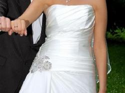 Bardzo elegancka suknia ślubna