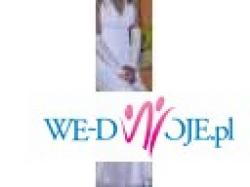 Bardzo kobieca piekna suknia ślubna + gratisy