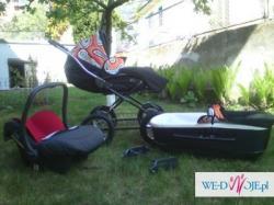 bardzo kolorowy ROAN MARITA -Wózek spacerowy, gondola, nosidełko, dodatki