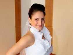 Bardzo oryginalna suknia ślubna!