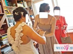 Bardzo zwiewna suknia ślubna Papilio