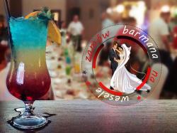 BARMAN  NA WESELE- DRINKI- DRINK- BAR Atrakcje NA WESELE