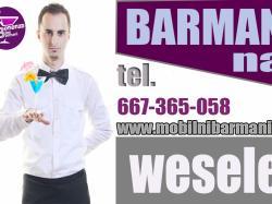 BARMAN NA WESELE / DRINKI NA WESELE -Sprawdź ofertę !