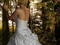Baśniowa suknia ślubna Papilio