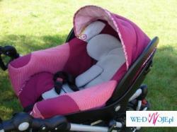 bebe confort HIGH TREK + fotelik creatis bbc