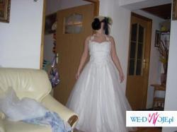 biała ślubna 38 używana