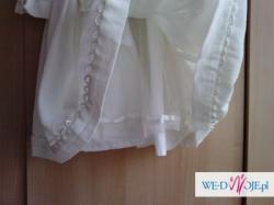 Biała sukienka 80 cm