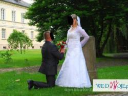 Biała sukienka ślubna Annais Bridal model June ;)