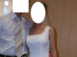 """Biała suknia """"Evita"""""""