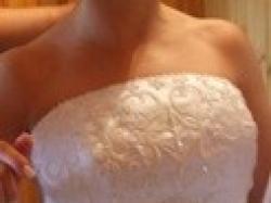 Białą suknia San Patrick model BABYLON