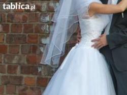 biała suknia ślubna 34/36