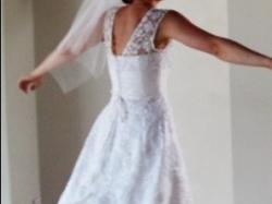 Biała suknia ślubna AGNES