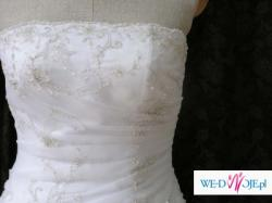 Biała suknia ślubna Annais Moon r. 38