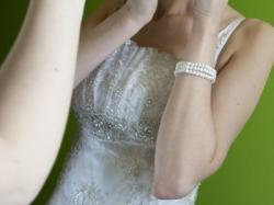 Biała suknia ślubna dla wysokiej LA SPOSA Arabella 36 / 38