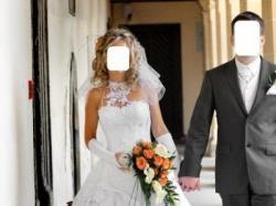 biała suknia ślubna (Emmi Mariage-Romance)rozm.36/38 wzrost165-170cm,1400zł