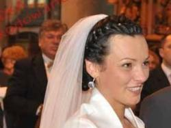 biała suknia ślubna gina - ms moda 2010 - rozmiar 38