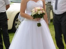 Biała suknia ślubna IGAR PEREŁKA rozmiar 36 38