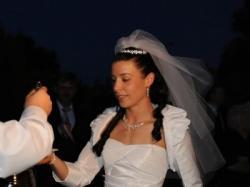 Biała Suknia Ślubna IMOGENE r. 36/38 krój księżniczki