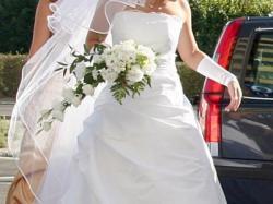 Biała suknia ślubna Margarett !! ciąża wesele