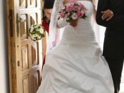 Biała suknia ślubna MS Moda