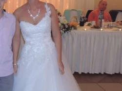 Biała suknia ślubna princeska 38  Sieniawa