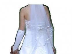 biała suknia ślubna r.42