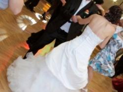 Biała suknia ślubna romziar 34-36