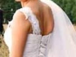 Biała suknia ślubna roz, 36/38 z dodatkami, koronka
