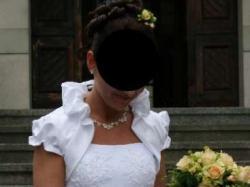 Biała suknia ślubna -roz 38 - OKAZJA!