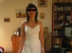 biała suknia ślubna rozm.34 (gorset+spódnica)