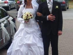 Biała suknia ślubna rozm. 38