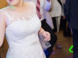 Biała suknia ślubna rozm. 40/42 szyta na zamówienie