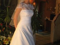 biała suknia ślubna rozmiar 36-38