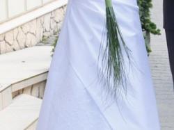 Biała suknia ślubna rozmiar 44/46 + bolerko
